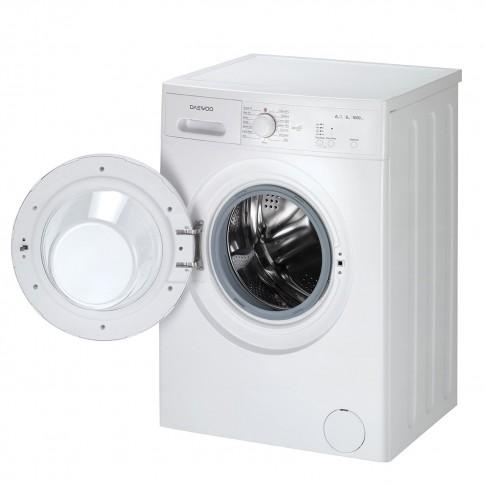Masina de spalat rufe slim Daewoo DWD-MV1011, 6 kg, 1000 rpm, clasa A++, adancime 49.7 cm, alb