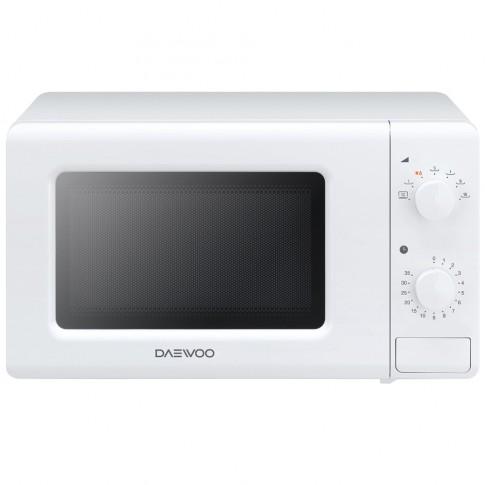 Cuptor cu microunde Daewoo KOR-6S20W, 20 l, 700 W, 7 nivele de putere, control mecanic, alb