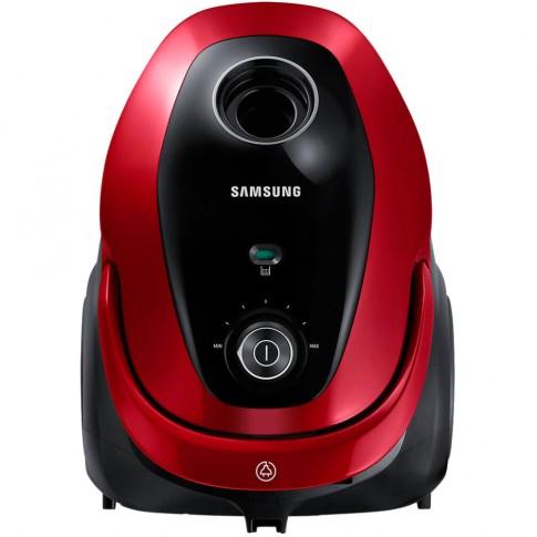 Aspirator Samsung VC07M25E0WR/GE, cu sac, aspirare uscata, 2.5 l, 750 W
