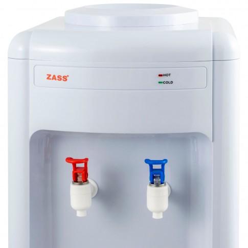Dozator de apa Zass ZWD 01 C, putere incalzire 550 W, putere racire 50 W, rezervor apa inox, termostat automat, alb