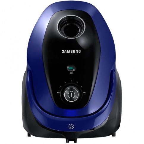 Aspirator Samsung VC07M25E0WB/GE, cu sac, aspirare uscata, 2.5 l, 750 W