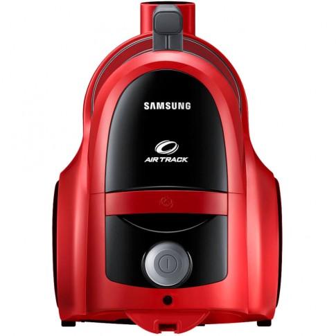 Aspirator Samsung VCC45T0S3R/BOL, fara sac, aspirare uscata, sistem Twin Chamber, 1.3 l, 850 W