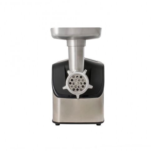 Masina de tocat carnea, electrica, Zass ZMG 07, functie Reverse, 1.8 kg/min, 1800 W, gri cu negru + accesoriu suc rosii