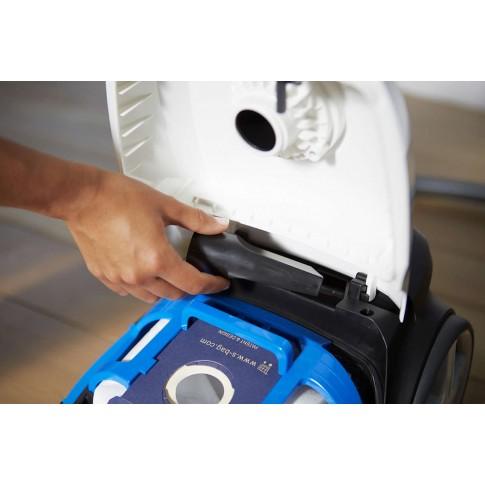 Aspirator Philips Performer Compact FC8373/09, cu sac, aspirare uscata, filtru anti-alergeni, tehnologie AirflowMax, 3 l, 750 W