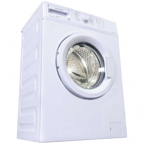 Masina de spalat rufe slim Arctic APL61012BDW0, 6 kg, 1000 rpm, clasa A+++, adancime 41.5 cm, tehnologie Smart Sensors, alb