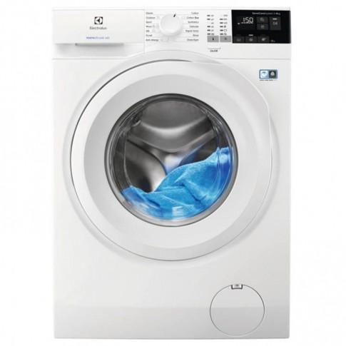 Masina de spalat rufe Electrolux PerfectCare 600 EW6F428WU, 8 kg, 1200 rpm, clasa A+++, adancime 57.6 cm, sistem SensiCare, Eco TimeManager, alba