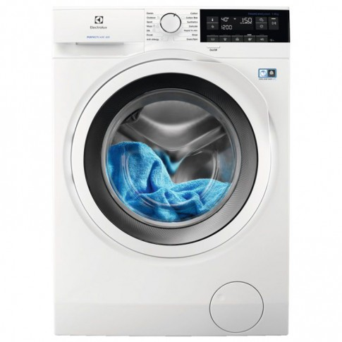 Masina de spalat rufe Electrolux PerfectCare 600 EW6F328W, 8 kg, 1200 rpm, clasa A+++, adancime 57.6 cm, sistem SensiCare, motor Inverter, alb