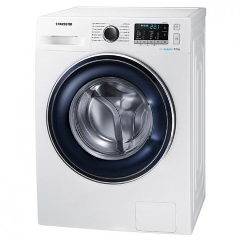 Masina de spalat rufe Samsung WW80J5345FW, 8 kg, 1200 rpm, clasa A+++, adancime 55 cm, tehnologie Eco Bubble, alba