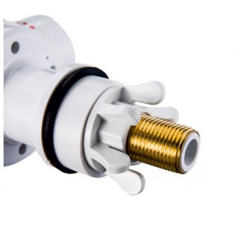 Instant apa calda, electric, tip robinet, Albatros Aqualiente, pentru chiuveta, 3 kW, 220 V