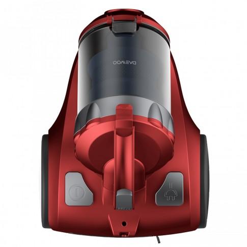 Aspirator Daewoo RCC-120R/2A, ciclonic, fara sac, aspirare uscata, filtru Hepa, 2 l, 800 W