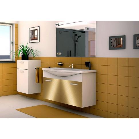 Autocolant metalic Gekkofix Stainless gold, 0.45 x 15 m