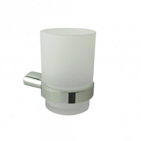 Pahar baie pentru igiena personala, Marlyn AR1705, sticla, 9.5 x 6.8 cm