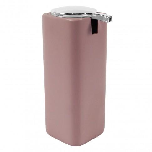 Dozator sapun lichid Purple BPO-2700-1A, polirasina, roz