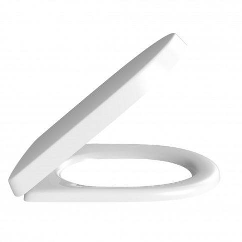 Capac WC din duroplast, Villeroy & Boch 9M396101, alb, inchidere standard, 368 x 412 mm