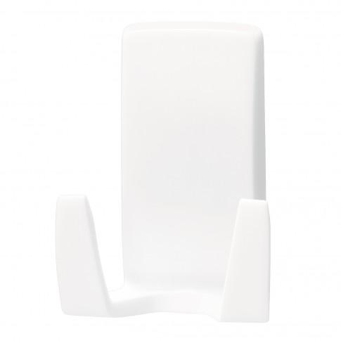 Suport pentru aparatul de ras, tesa Waterproof, benzi dublu adezive incluse, alb