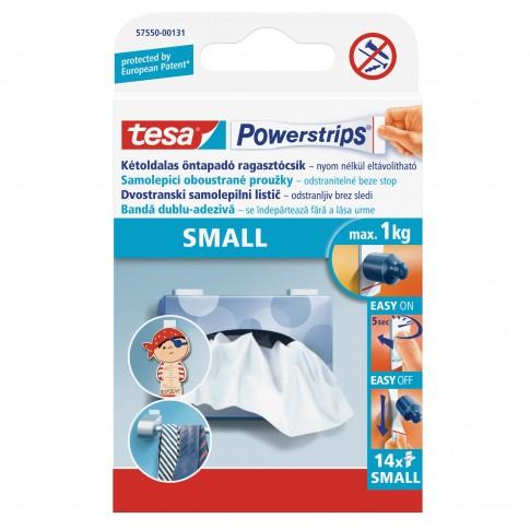 Benzi dublu adezive, Tesa Powerstrips, mici