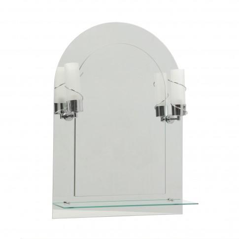 Oglinda baie Class Mirrors M16, 50 x 70 cm, 1 etajera