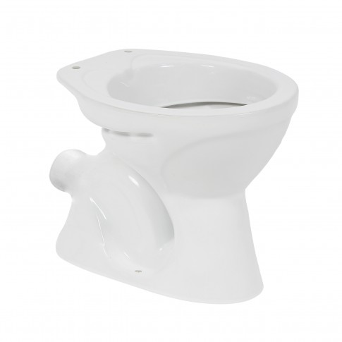 Vas WC Dura Bagno 1033, alb, cu evacuare orizontala