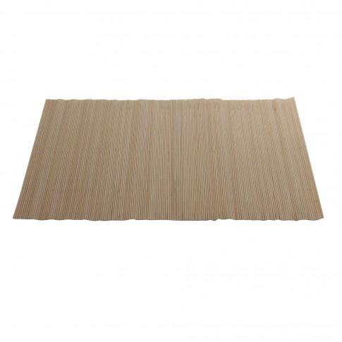 Suport de masa, pentru bucatarie, BM13-4 POW, bambus, bej, 45 x 30 cm, set 4 bucati