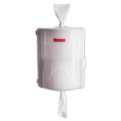 Dispenser hartie igienica dublu one by one Misavan, plastic, alb