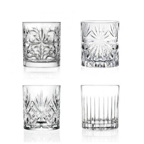 Pahar cocktail, Mixology, din cristal, 300 ml, set 4 bucati