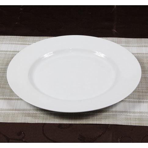 Farfurie intinsa mare, Super White, portelan, alb, 26.7 cm