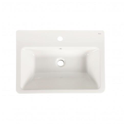 Lavoar Roca Caserta A3270J1000, portelan, alb, dreptunghiular, 60 cm