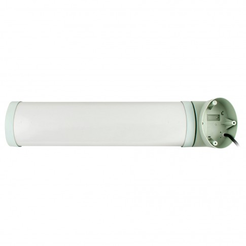 Radiator quartz Zass ZQH 05, 3 trepte, 1500 W, 130 x 620 x 120 mm, montare pe perete, unghi de inclinare reglabil, clasa de protectie IP24