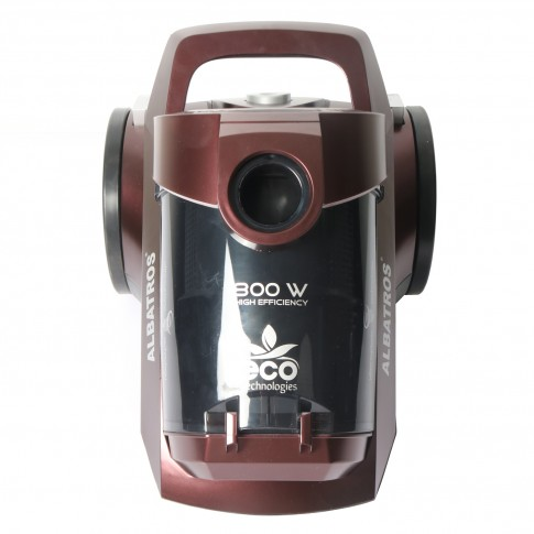 Aspirator Albatros Rebel 80 Eco, ciclonic, fara sac, aspirare uscata, filtru Hepa, 4 l, 800 W