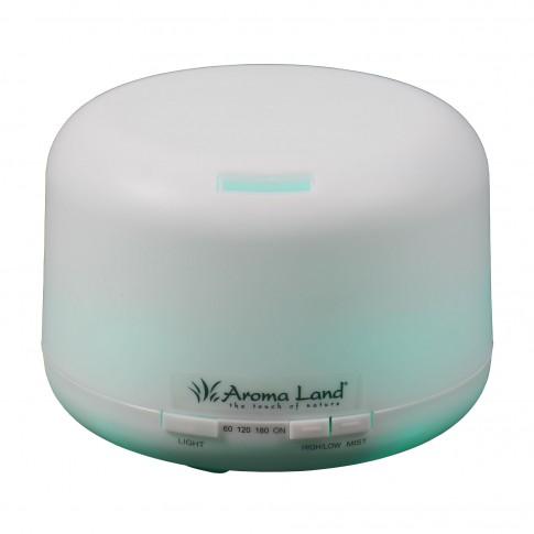Difuzor ultrasonic Aroma Land A770+, 500 ml, functie de umidificator, aroma difuzor, purificator aer