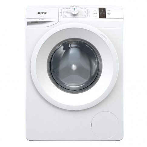 Masina de spalat rufe Gorenje WP72S3, 7 kg, 1200 rpm, clasa D, adancime 46.5 cm, tambur WaveActive, program AllergyCare, alba