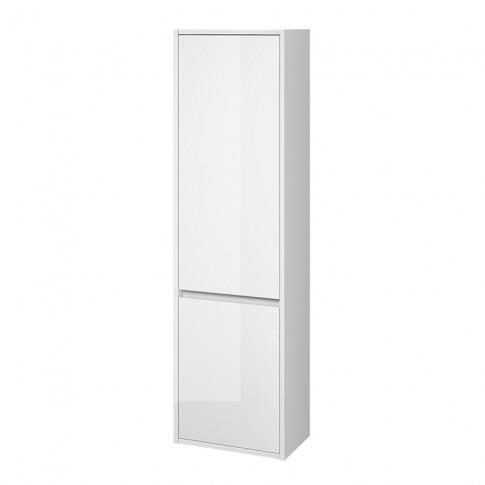 Dulap baie suspendat, Cersanit Crea S924-022, 2 usi, alb, 40 x 140 x 25 cm