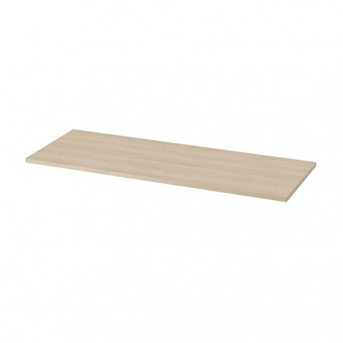 Blat pentru lavoar baie, Cersanit Moduo S590-026, stejar, MDF, 119.8 x 45 x 1.8 cm