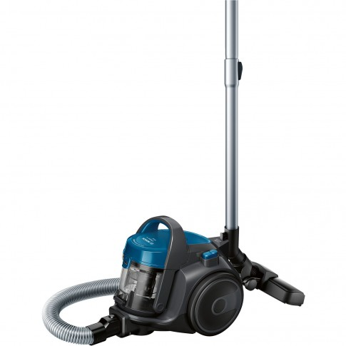 Aspirator Bosch BGS05A220, fara sac, aspirare uscata, filtru EPA H 12, filtru igienic PureAir, 1.5 l, 700 W
