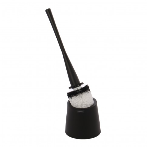 Perie WC Spirella Frosty, polipropilena, negru