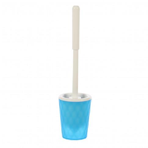 Perie WC Spirella Pool, polipropilena, albastra