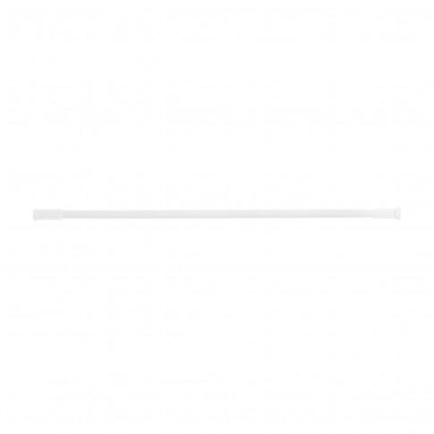 Bara perdea dus, telescopica / extensibila, aluminiu, alb, F140094, 70 - 120 cm
