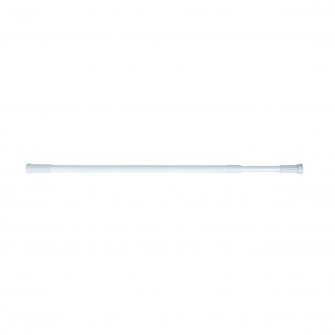 Bara perdea dus, telescopica / extensibila, aluminiu, alb, F140095, 110 - 200 cm