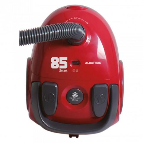 Aspirator Albatros Smart 85 Eco-Red, cu sac, aspirare uscata, 1.8 l, 850 W
