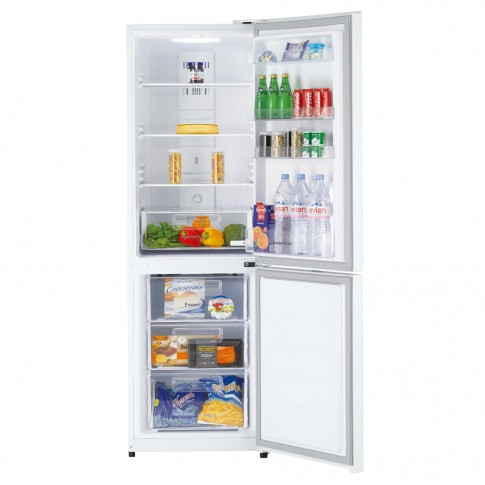Combina frigorifica Daewoo RN-309RDQW, 305 l, Perfect No Frost, clasa A+, inaltime 187 cm, functie racire rapida, mod Eco, alba