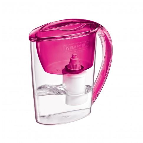 Cana de filtrare apa Barrier Nika 106-R, rosu, 2.5 l