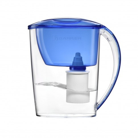 Cana de filtrare apa Barrier Nika 106-AB, albastru, 2.5 litri