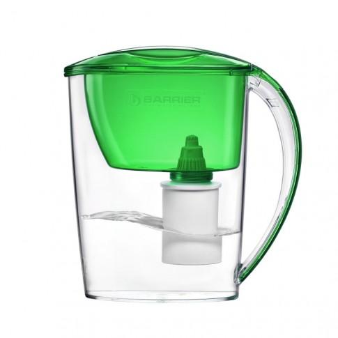 Cana de filtrare apa Barrier Nika 106-V, verde, 2.5 litri