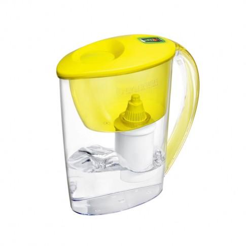 Cana de filtrare apa Barrier Fit 107-GB, galben, 2.5 litri