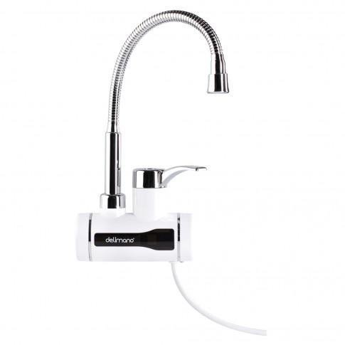 Instant apa calda, electric, tip robinet, Delimano Instant Water Heating Faucet, pentru chiuveta, orizontal, afisaj digital, 3.3 kW, 220 - 240 V