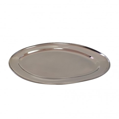 Platou oval, din inox, Kasemi 6000433, 35 cm