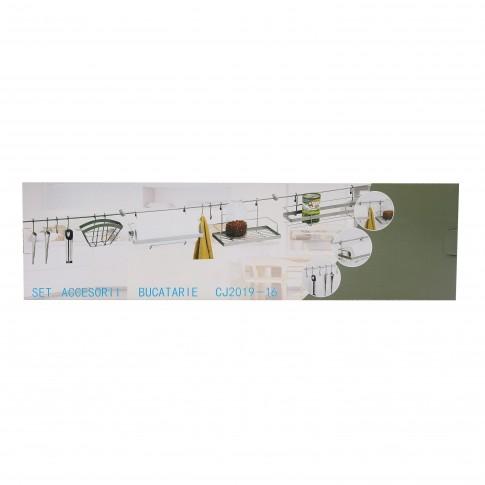 Set suporturi bucatarie CJ2019-16, 12 accesorii