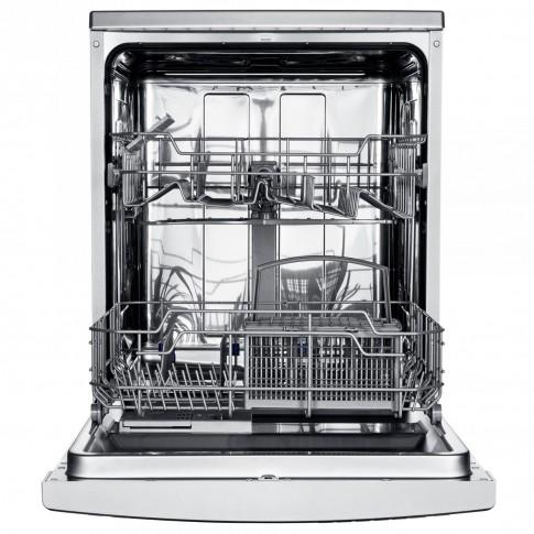Masina de spalat vase Samus SDW60.6, 12 seturi, clasa E, 6 programe, latime 60 cm, alba