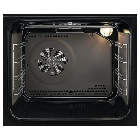 Cuptor electric incorporabil Electrolux EZF5C50Z, clasa A, 57 litri, 9 functii, grill, ventilator, autocuratare catalitica, 2500 W, negru