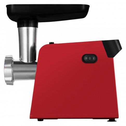 Masina de tocat carne, electrica, Samus SMT-1210RED, functie Reverse, 1200 W, rosie, accesoriu suc rosii